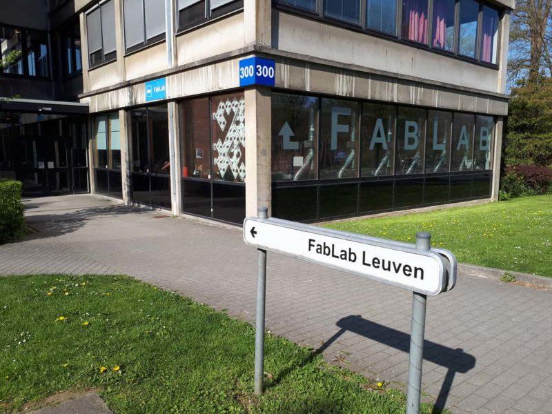FabLab Leuven gebouw