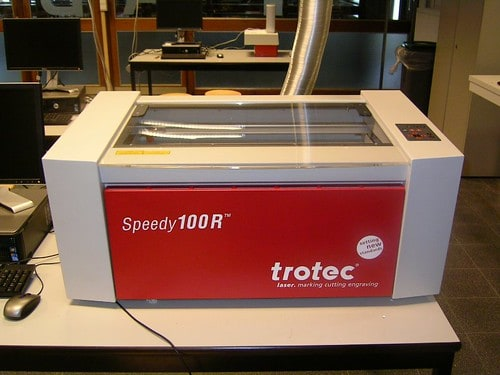 trotec speedy100R laser cutter