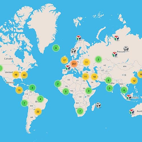 FabLabs around the world